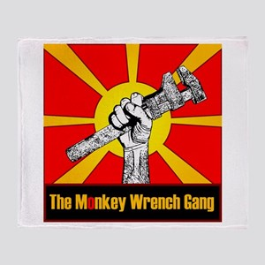 The Monkey Wrench Gang Throw Blanket