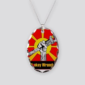 The Monkey Wrench Gang Necklace Oval Charm