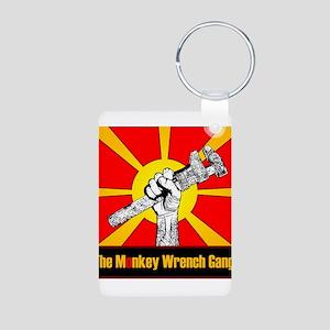 The Monkey Wrench Gang Aluminum Photo Keychain