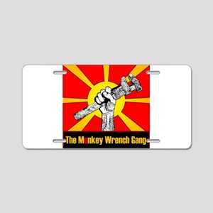 The Monkey Wrench Gang Aluminum License Plate