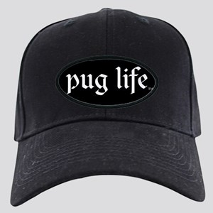 Pug Life Basic Black Cap