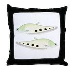 Clown Featherback Knifefish Throw Pillow
