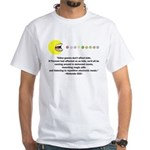 Video Games Don't Affect Kids White T-Shirt
