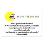 Video Games Don't Affect Kids Postcards (Package o
