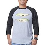 Clown Featherback Knifefish Mens Baseball Tee