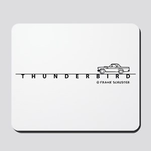 1957 Ford Thunderbird w Type Mousepad