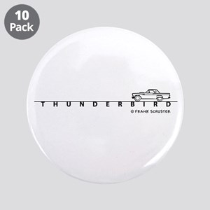 "1957 Ford Thunderbird w Type 3.5"" Button (10 pack)"