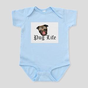 Chewie Pug Life Infant Creeper