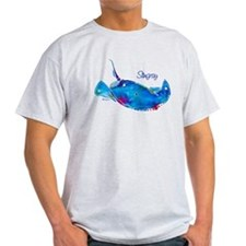 Stingray in Bold Colors Light T-Shirt