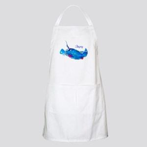 Stingray in Bold Colors Apron