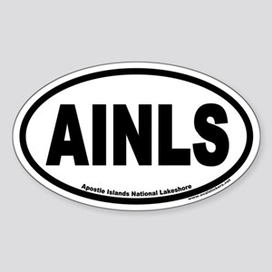 Apostle Islands National Lakeshore AINLS Euro Oval