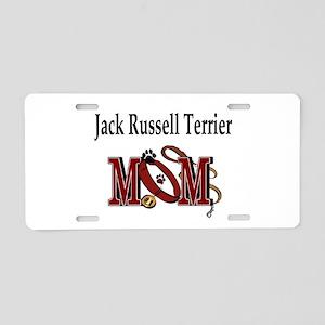 Jack Russell Terrier Aluminum License Plate