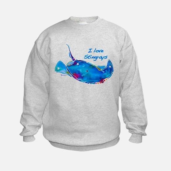 I LOVE STINGRAYS Sweatshirt