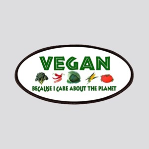 Vegans Care About Planet Patches