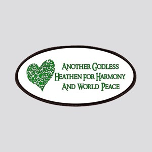 Godless Heathen For Peace Patch