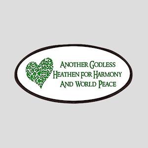 Godless Heathen For Peace Patch