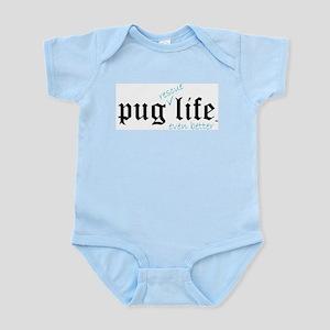 Pug Rescue Life Infant Creeper