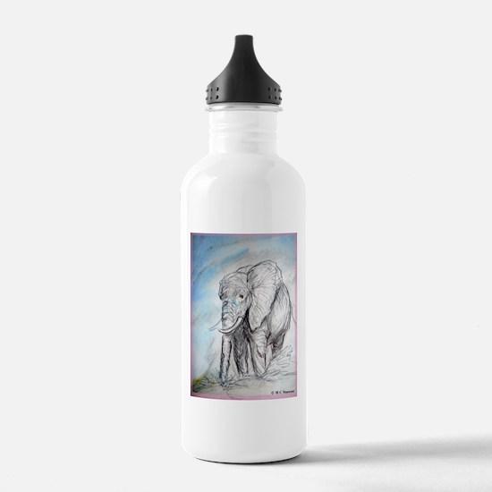 Elephant, wildlife, Water Bottle