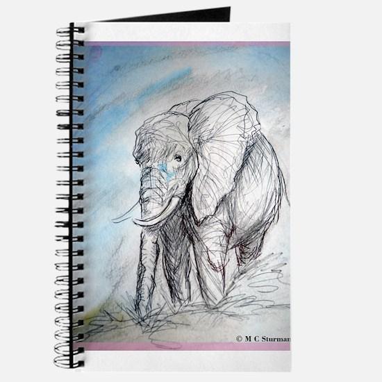 Elephant, wildlife, Journal