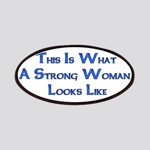 Strong Woman Example Patch