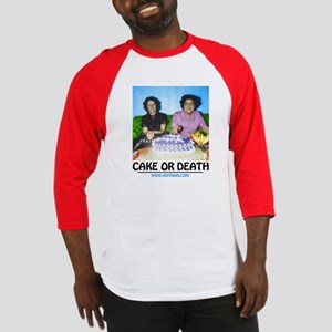 Cake or Death Baseball Jersey