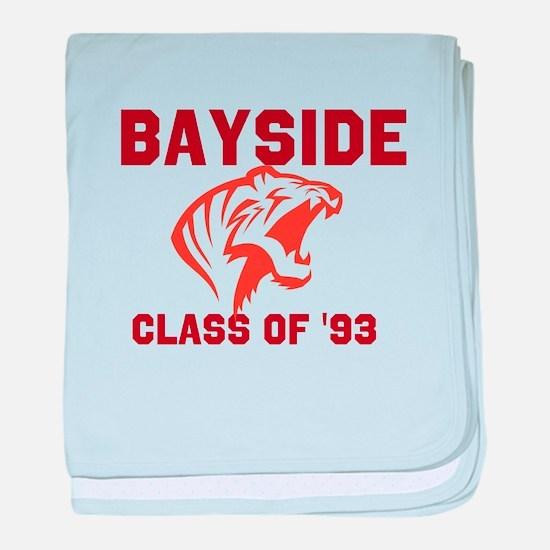 Bayside Tigers baby blanket