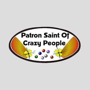 Patron Saint Crazy People Patches