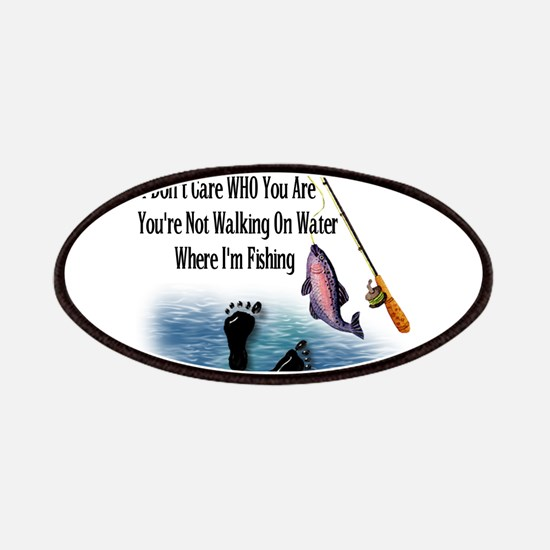 Fishing Here! Patches