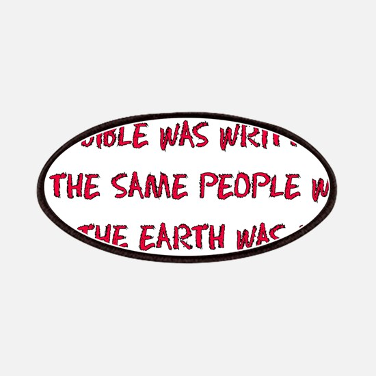 Flat Earth Bible Thumpers Patches
