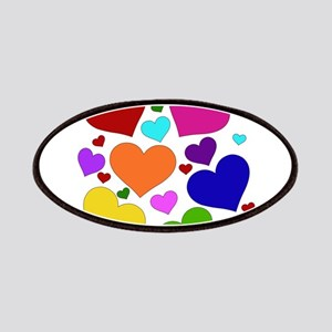 Rainbow Hearts Patches