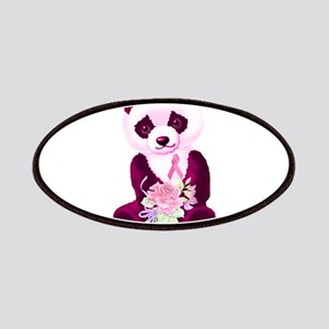 Breast Cancer Panda Bear Patches