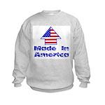Made In America Kids Sweatshirt