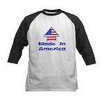 Made In America Kids Baseball Jersey