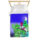 Big Monster Party Twin Duvet Cover
