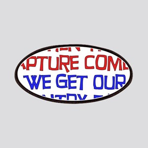 Rapture Wingnuts Patches