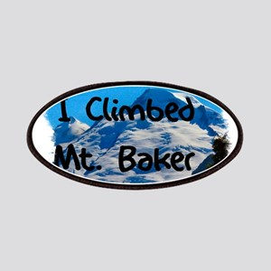 I Climbed Mt. Baker Patches
