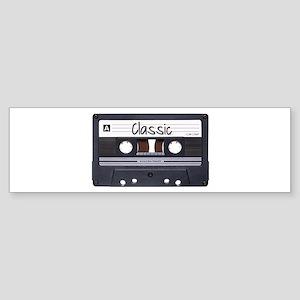 Classic Cassette Sticker (Bumper)
