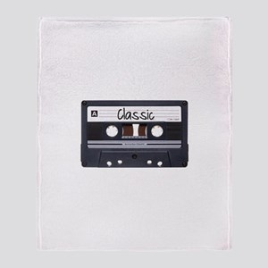 Classic Cassette Throw Blanket
