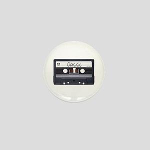 Classic Cassette Mini Button