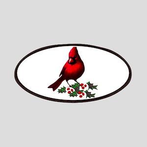 Christmas Cardinal Patch
