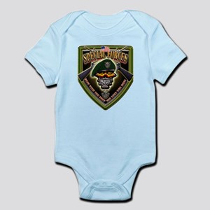 US Army Special Forces Shield Infant Bodysuit