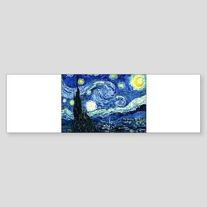 Starry Night Sticker (Bumper 10 pk)