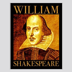 William Shakespeare Small Poster