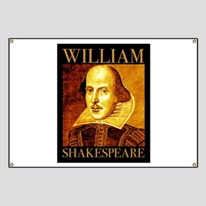 William Shakespeare Banner