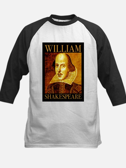 William Shakespeare Kids Baseball Jersey