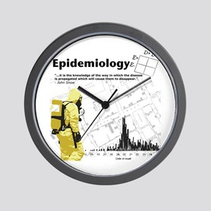 Epidemiology Inspirational Quote Wall Clock