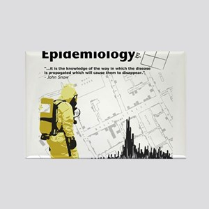 Epidemiology Inspirational Quote Rectangle Magnet