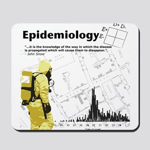 Epidemiology Inspirational Quote Mousepad
