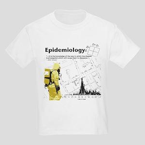 Epidemiology Inspirational Quote Kids Light T-Shir