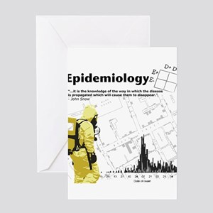Epidemiology Inspirational Quote Greeting Card